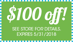 Bring in this coupon for up to $200 OFF your purchase this month at Abbey Van Dam Carpet and More in Marysville
