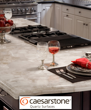Caesarstone Quartz Countertops at Abbey Van Dam Carpet and More in Marysville