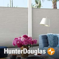 Custom Window Blinds, Shades, Shutters and Drapery from Hunter Douglas - stop by to see our selections!